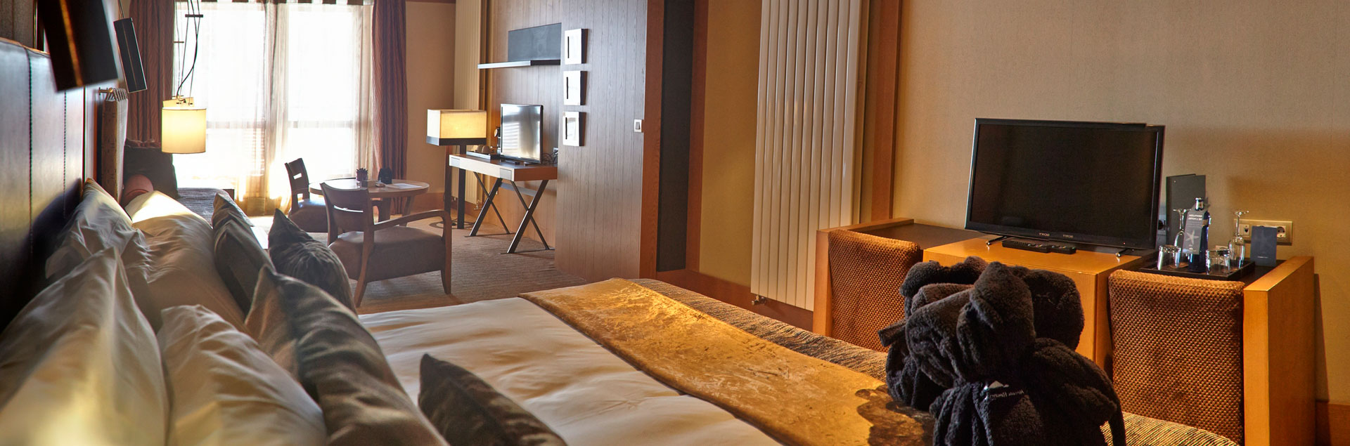 chambre du luxe leading hotel Soldeu Andorre